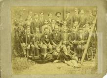 João Pedro Cardoso e seus colegas da escola politécnica do Rio de Janeiro