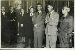 Visita dos membros do Seminário Latino-Americano de Prevenção do delito e tratamento do Delinquente ao governador Lucas Nogueira Garcez (abril de 1953) - Fala o Prof. López-Rey
