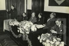 Comemoração do Dia da Polícia na escola de Polícia em 10 maio - 1945 S. Paulo
