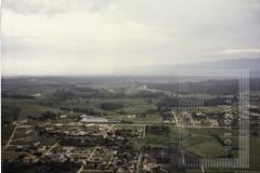 Vista aérea da região central de Pindamonhangaba