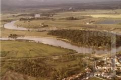 Vista aérea do Rio Paraíba