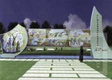 Projeto de fonte comemoração aos 300 anos de emancipação política de Pindamonhangaba