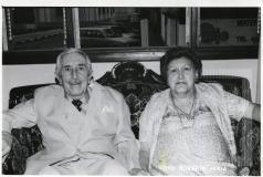 Doutor Paulo Emílio D'Alessandro e esposa