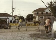 Asfaltamento na rua Campos Sales