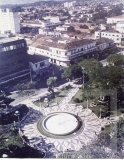 Vista aérea da Praça Monsenhor Marcondes