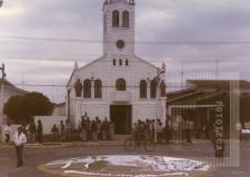 Procissão em honra a Santa Cruz, São Joaquim e Santana - Bairro da Boa Vista