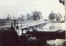 Ponte da represa de Coruputuba